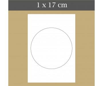 Custom icing edible image 1 x 17 cm