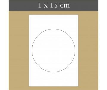 Custom icing edible image 1 x 15 cm